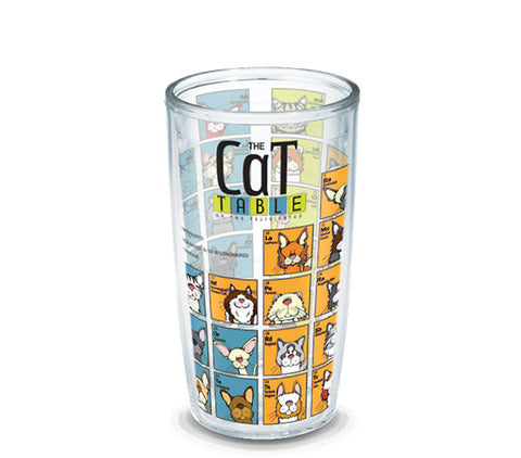 cat periodic table tumbler made in usa