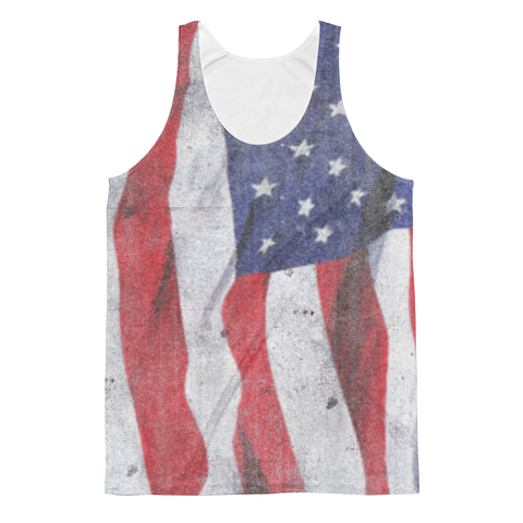 Ripple Flag Unisex Classic Fit Tank Top - Cinnia Boutique