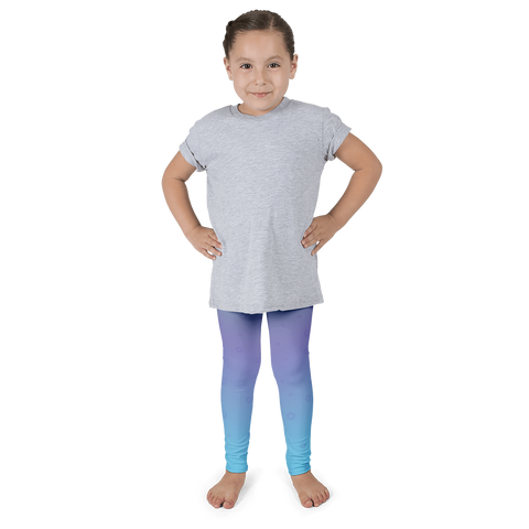 Lotus Flower Kid's Leggings - Cinnia Boutique