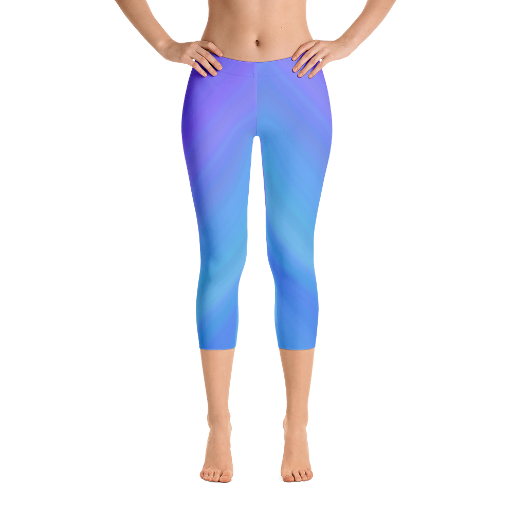 Night Sky Capri Leggings - Cinnia Boutique