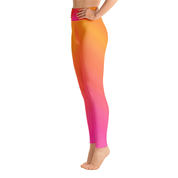 Sunset Yoga Leggings - Cinnia Boutique