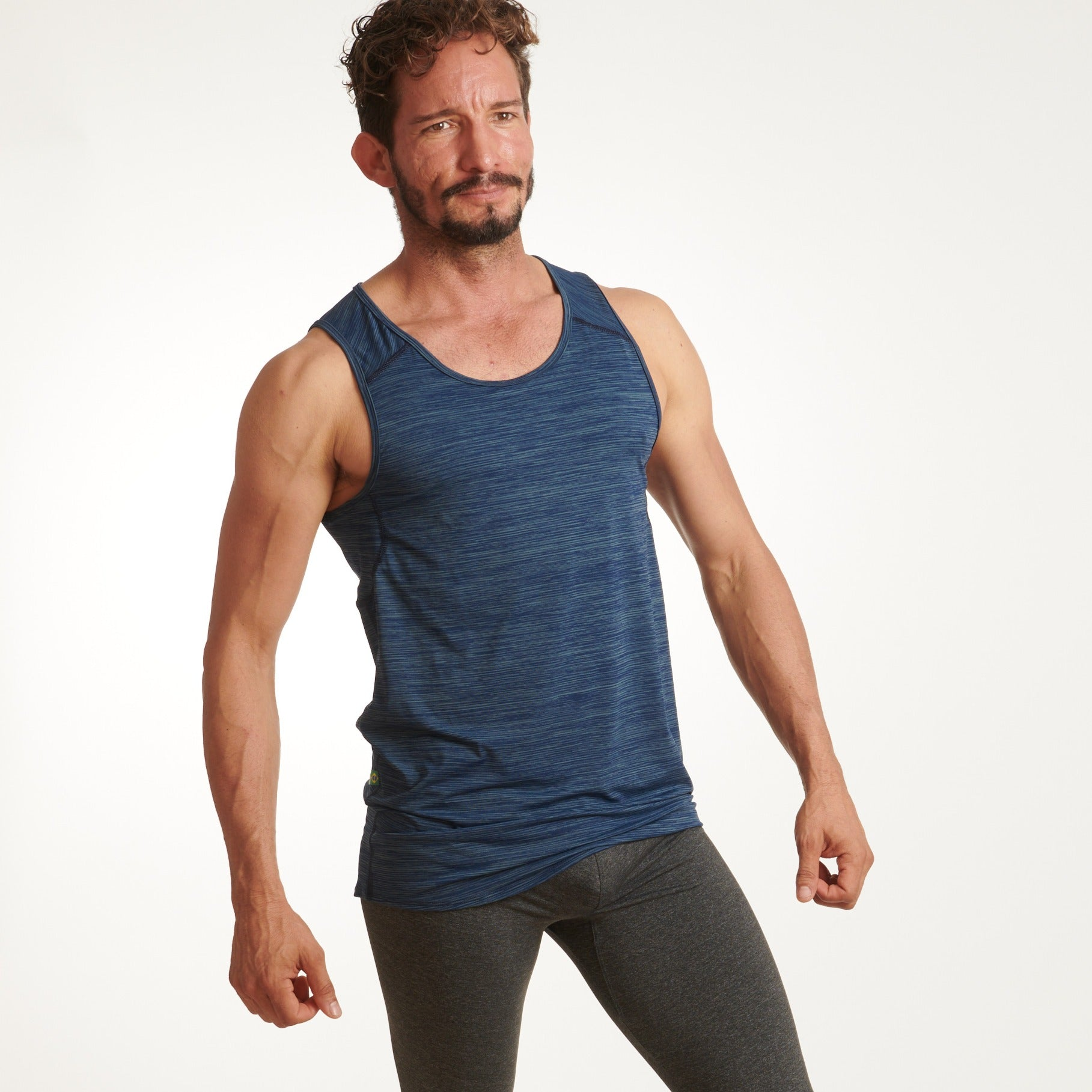 Blue Waves Men Tank