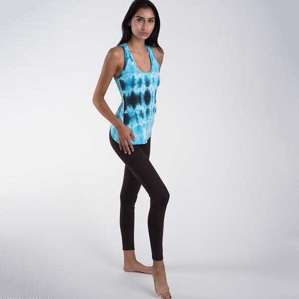 Blue Energy Tank Top