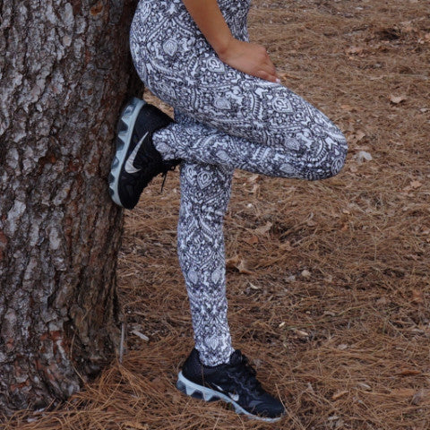 Granite Stirrup Leggings