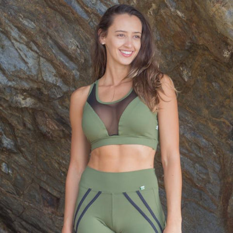 Enigma Mesh Sports Bra