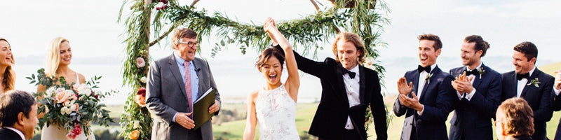 FOREST WEDDING KAURI BAY BOOMROCK