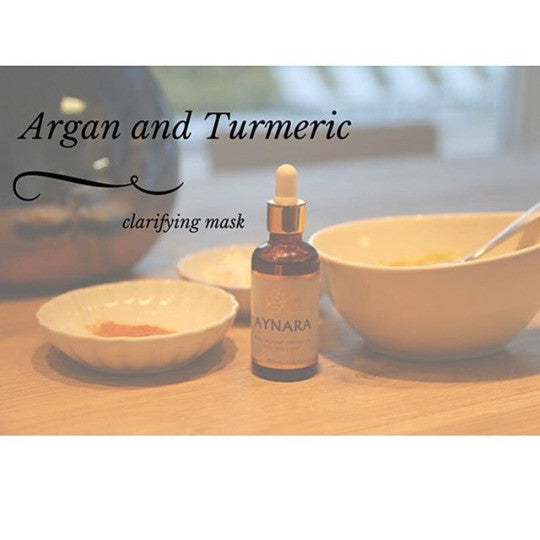 Organic Argan Oil Clarifying Mask