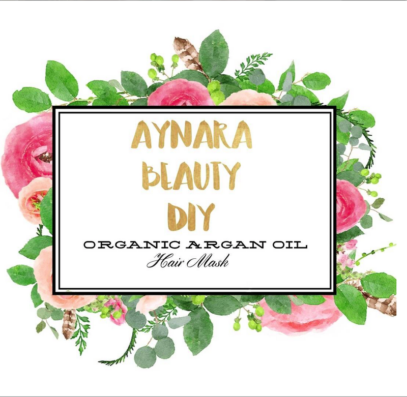 DIY Argan Oil Hair Mask