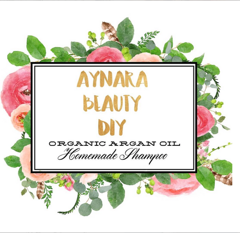 diy argan oil shampoo aynara beauty