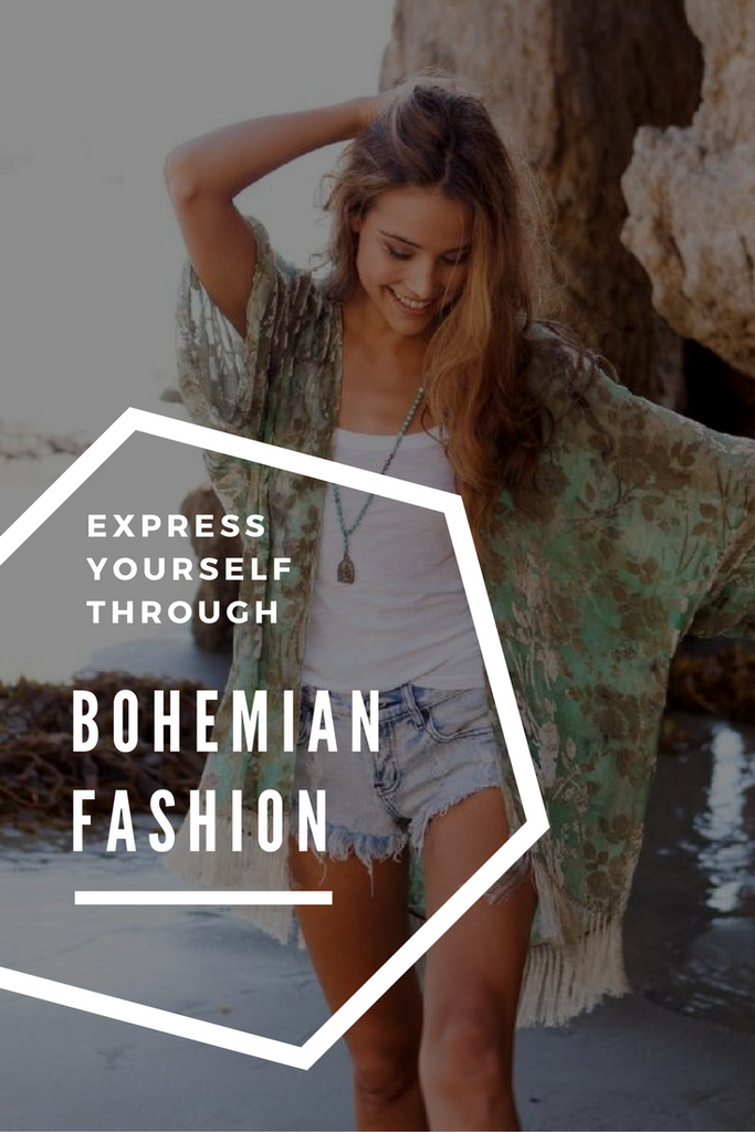 Express Yourself Through Bohemian Fashion