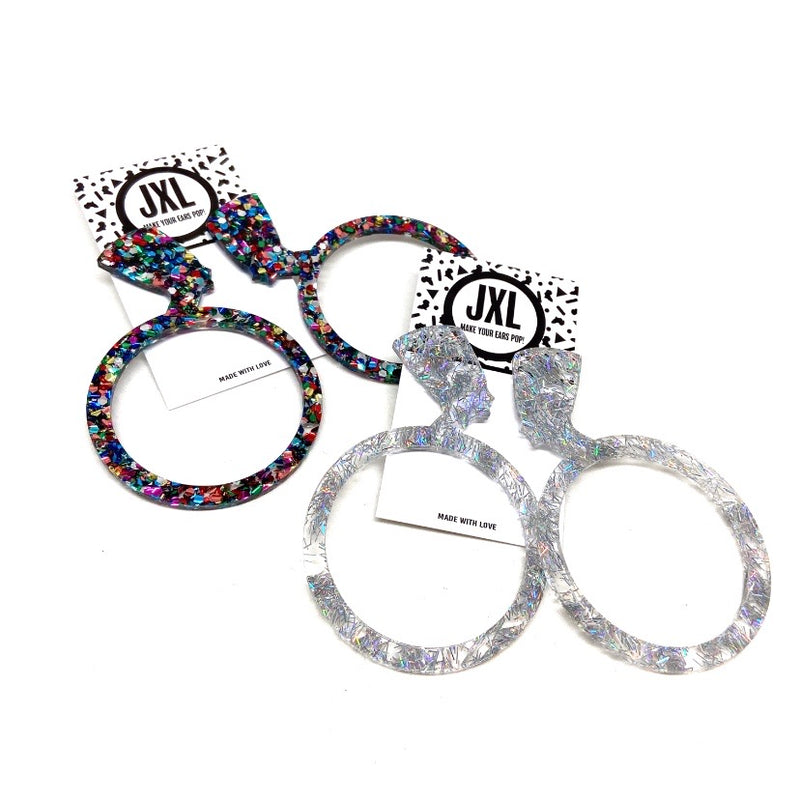Queendom Hoop Earrings