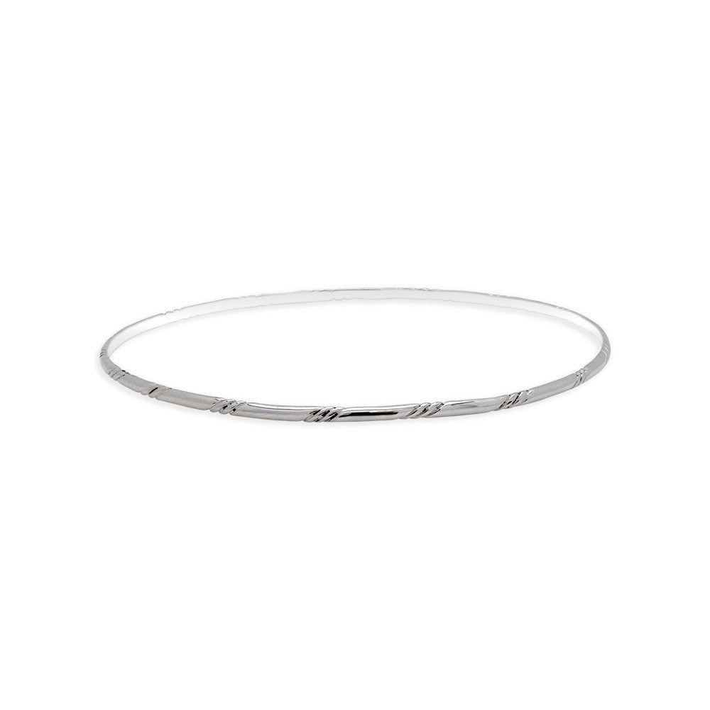 Moire Stack Bangle