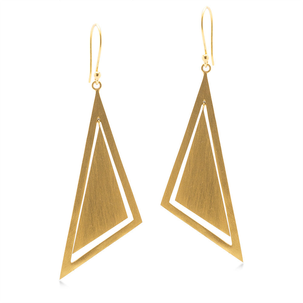Scalene Shapes Earring