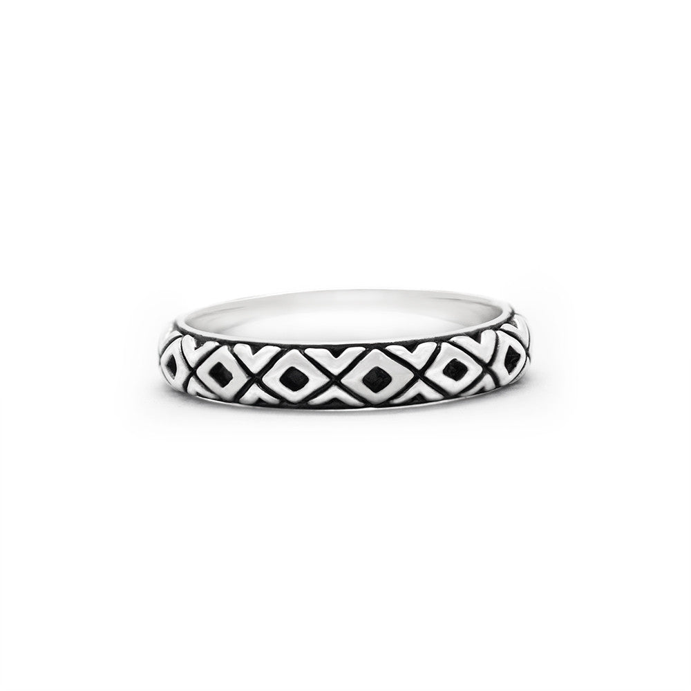 Tribal Stack Ring