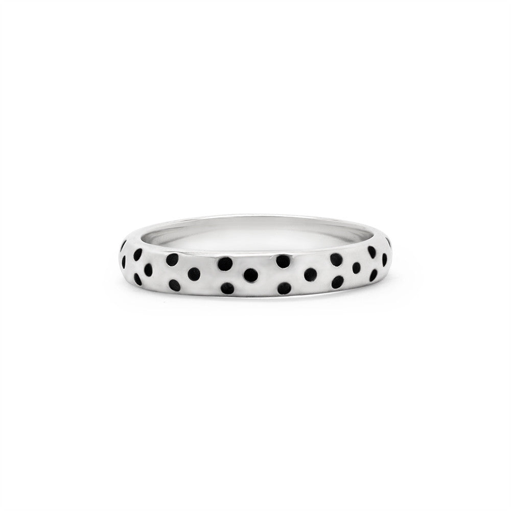Dotted Stack Ring