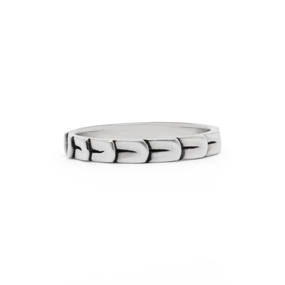 Herringbone Stack Ring