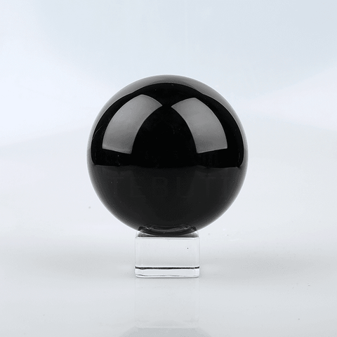 Natural Obsidian Crystal Ball – Tebuti