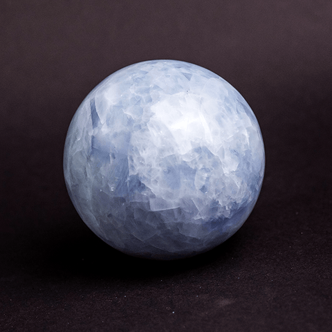 Natural Celestine Sphere Ball Stone