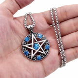 Celtic Wicca Pentacle Star Pendant