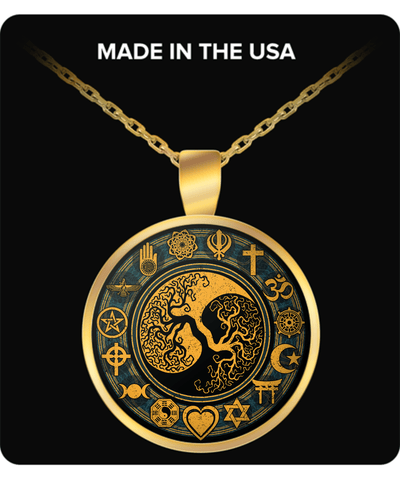 Golden Tree Of Life Necklace