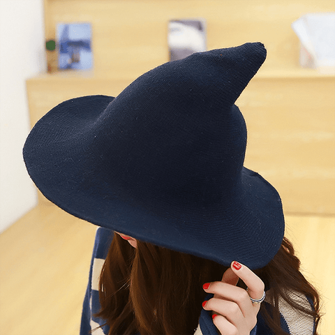 Tebuti™ Classic Wool Witch Hat