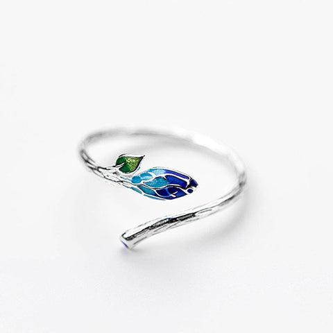 Nature Leaf Open Ring