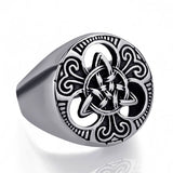 Celtic Triquetra Knot Ring