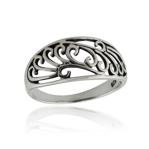 Celtic Ocean Waves Ring