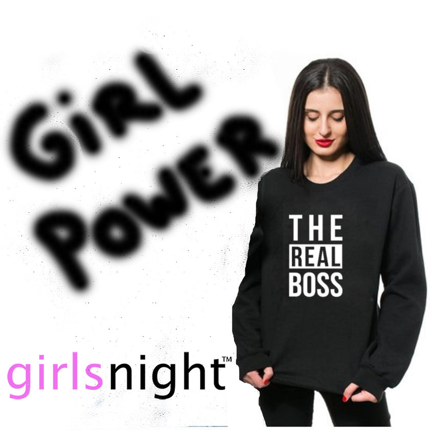 girl power and the real boss for your girls night, girls night out, ladies night and girls night in