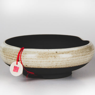 Handcrafted Ceramic Bonsai Pot  Style: The Noodle Bowl