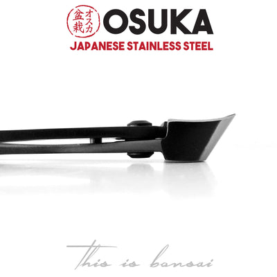 OSUKA Bonsai Branch Cutters 180mm Shohin Black – Japanese Stainless Steel
