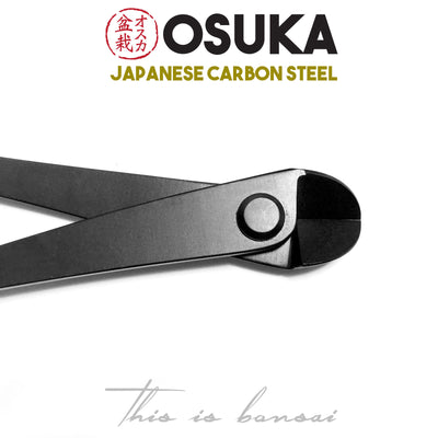 OSUKA Bonsai Wire Cutters 180mm Shohin Black – Japanese Carbon Steel
