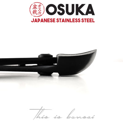 OSUKA Spherical Branch Cutters 205mm Black – Japanese Stainless Steel