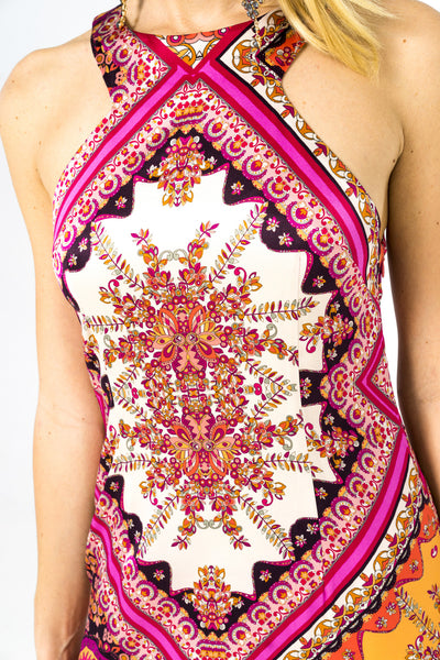 Pink Kaleidoscope - beautiful dress for you