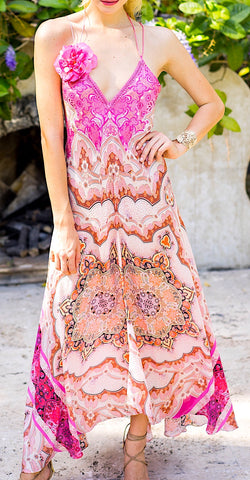 Pink Divine Flower Dress - Summer's Eve! - trishas-world