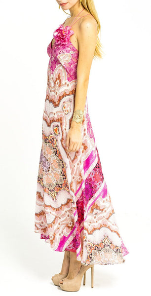 Pink Divine Flower Dress - Summer's Eve!
