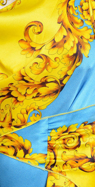 Sevre Blue and Yellow Short