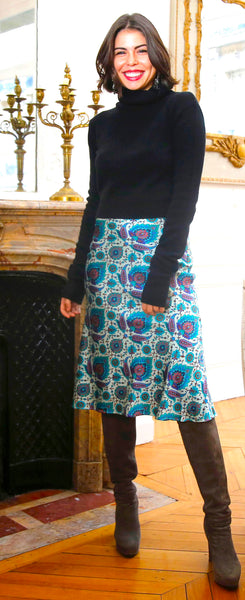 Indigo Skirt - trishas-world