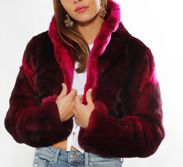 Pink Fur Bolero - trishas-world