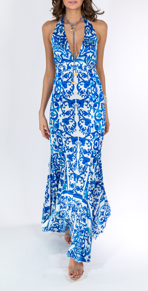 Mykonos Halter Dress - trishas-world