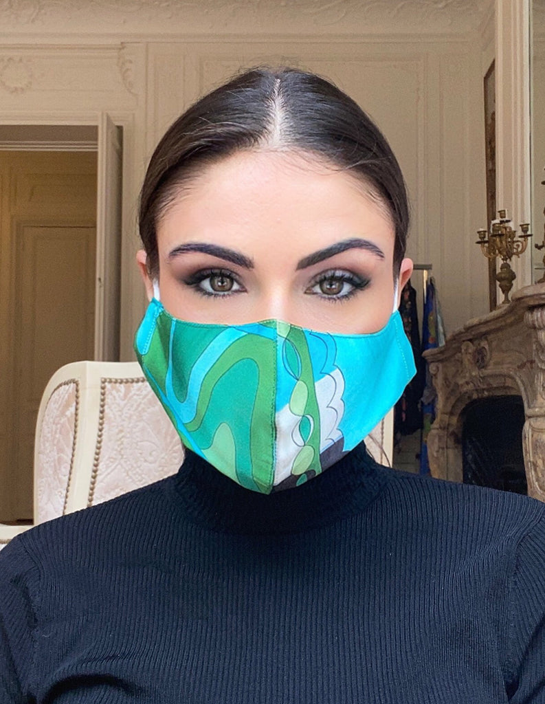 Mask - Riveria Blue/Green Mask