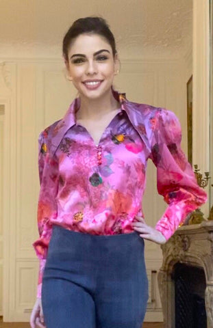 Jane's Blouse Pink