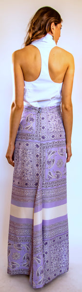 Purple Bandana Skirt