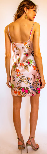 Midnight Pink Short Cami Dress- Pre Order Only