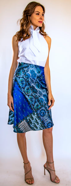 Pasha Blue Skirt