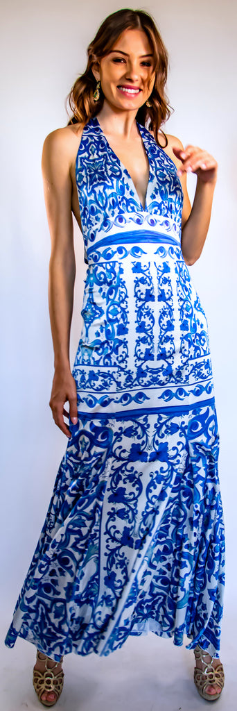 Mykonos Halter Dress