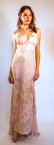 Lanvin Pink and Gold