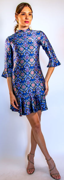 "Blue Khartoum ~ your ""go to"" dress."