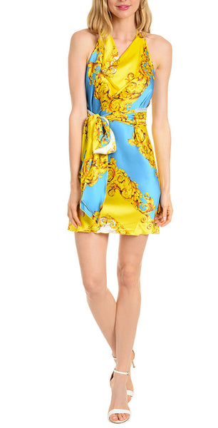 Sevre Blue and Yellow Short - trishas-world