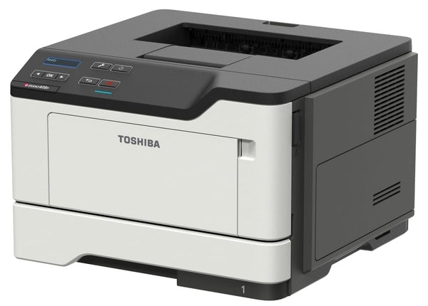Toshiba e-STUDIO 408P Mono Single Function Printer
